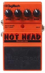 Digitech Hot Head Distortion Pedal review