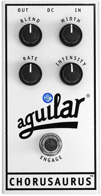 Aguilar Chorusaurus Chorus Bass Effects Pedal review