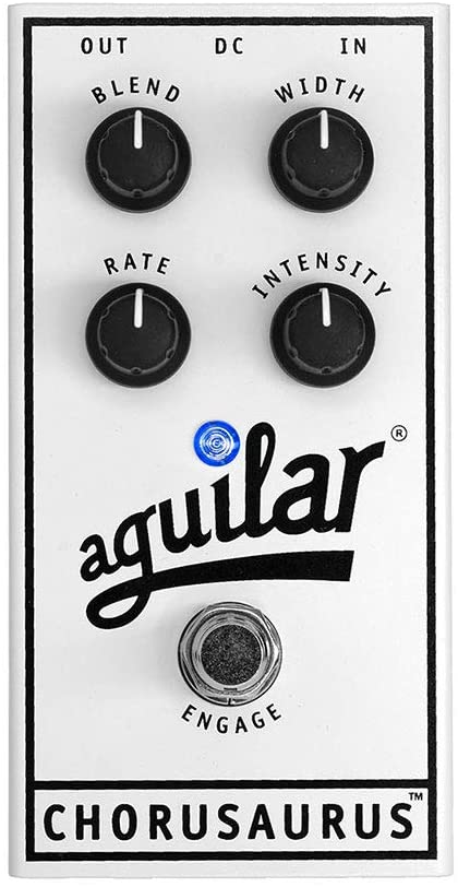 Aguilar Chorusaurus Chorus Bass Effects Pedal review