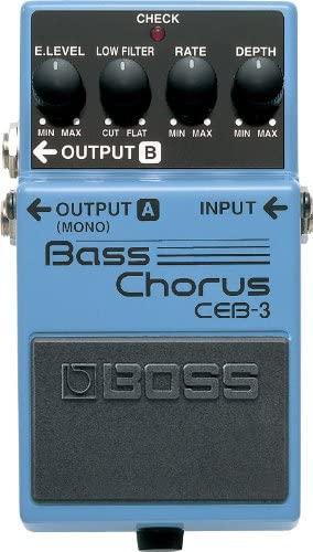 BOSS Bass Chorus Guitar Pedal review