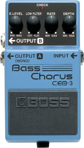 BOSS Bass Chorus Guitar Pedal review