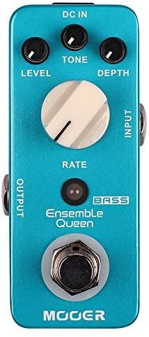 Mooer Audio Ensemble Queen Bass Chorus Pedal review