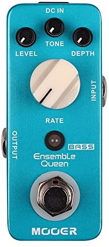 Mooer Audio Ensemble Queen Bass Chorus Pedal review