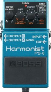 BOSS Harmonist Guitar Pedal (PS-6)