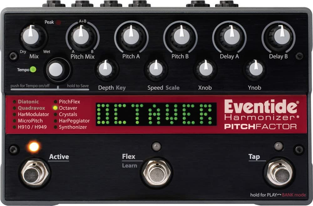 Eventide PitchFactor Harmoniser Guitar Multi Effects Pedal review