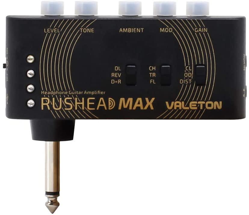 Valeton Rushead Max USB Chargeable Portable Pocket Guitar Headphone Amp