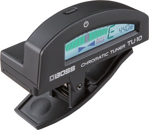 BOSS TU-10 – Best Clip-On Tuner for Electric Guitar