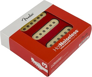 Fender Strat Hot Noiseless Pickups