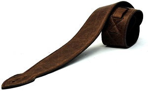 LeatherGraft Walnut Brown Genuine Leather Strap