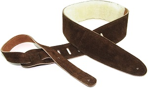 Perri's Leathers Suede Guitar Strap