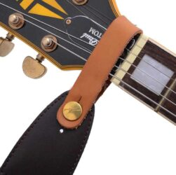 best leather strap for guitar